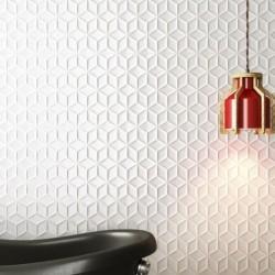 Azulejo Decorativo Blanco...