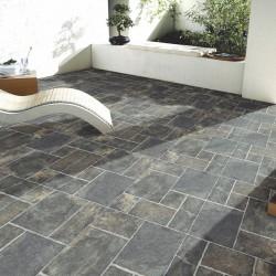 Pavimento para terrazas imitacion piedra antideslizante - Oregon C3