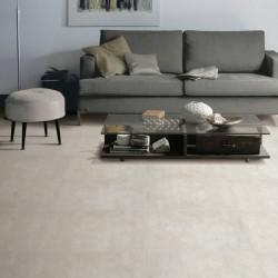 Suelo Imitación Cemento Formato Grande Mate Color Blanco, Gris y Beige - Block