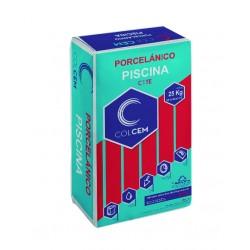 Cemento Cola C1TE para azulejos Porcelánicos de interior y exterior - Sacos...