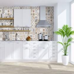 Azulejo Hidraulico para Chapado de cocina - Padua Decor