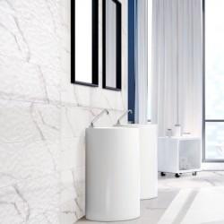 Baldosa Imitación Marmol Decorativo Para revestimiento de pared de ducha o...