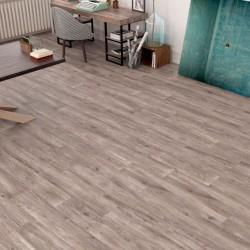 Ambiente suelo antideslizante c3 tipo madera rectificado Leca Caoba