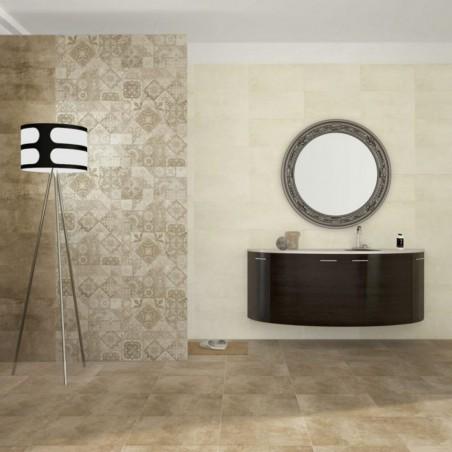 azulejo beige para baño