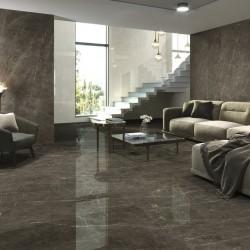 Ambiente suelo estilo emperador marmol porcelanico - Tessino Bronze