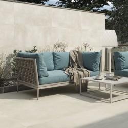 Ideas para decorar terrazas con azulejos beige porcelanico - Abstract Beige