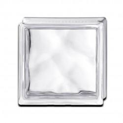 Bloque de vidrio ondulado neutro bq19