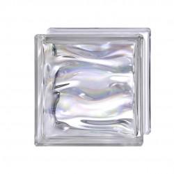 Bloque de vidrio blanco agua bq19