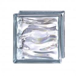 Piezas de Bloques de Vidrio en color Indigo