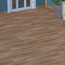 Suelo imitacion madera caoba