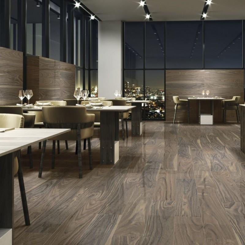 suelo imitacion madera pulido