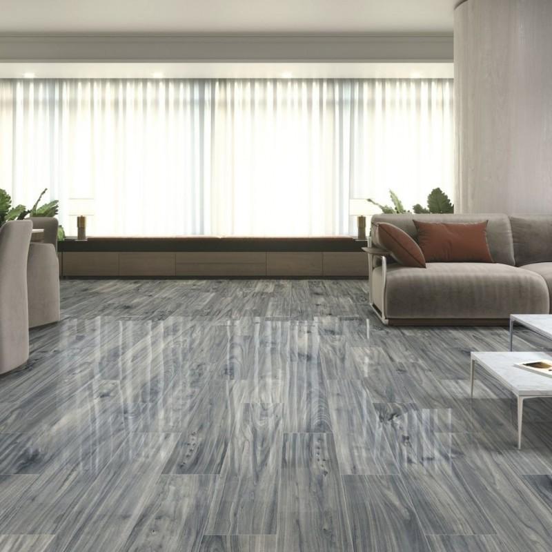 azulejo imitacion madera  gris pulido