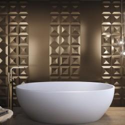 azulejos para baño metalizados
