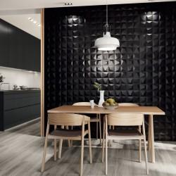 azulejo negro cocina
