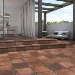 azulejo rustico para terraza